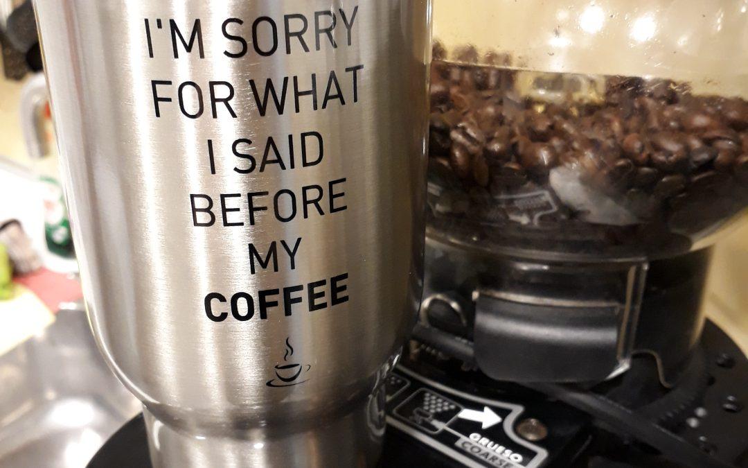 COFFEE TO GO – praktische Thermobecher aus Edelstahl individuell bedruckt