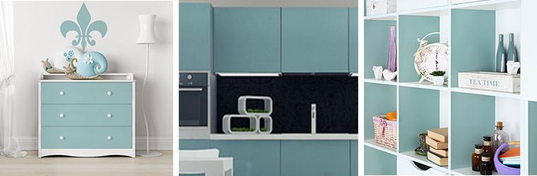 Verschönere deine Wohnung – mit Klebefolie