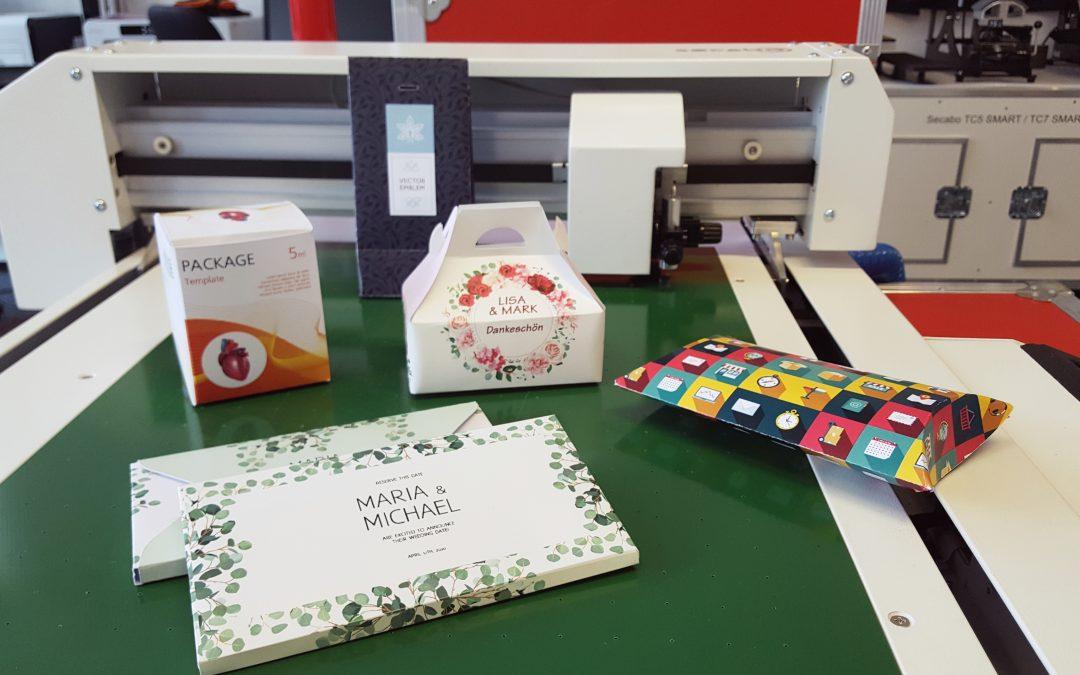 Herstellung kleiner Schachteln als Giveaways oder Gastgeschenke