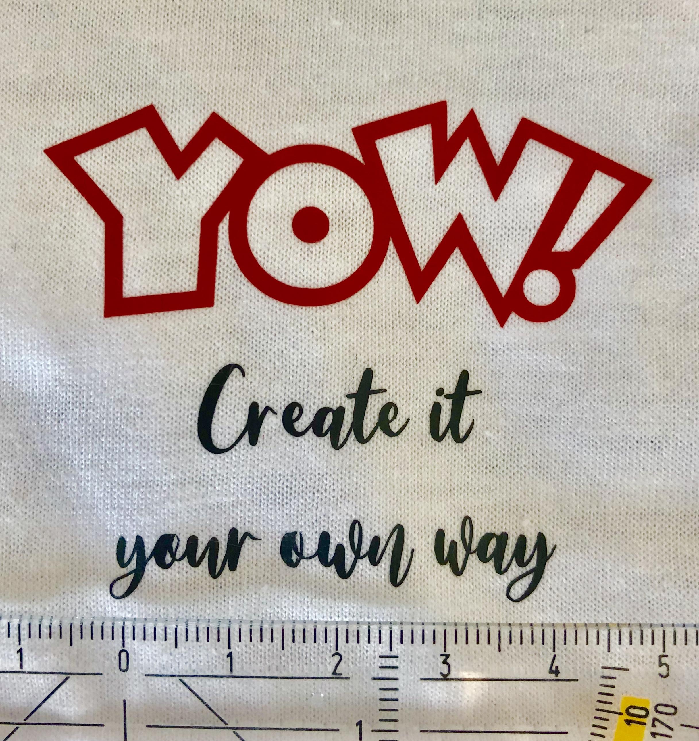 DIY: Mit eigener T-Shirt Beschriftung Statements setzen