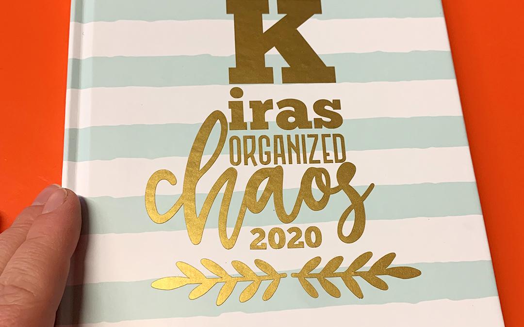 Organized chaos – so wird Ihr Jahresplaner zum Highlight