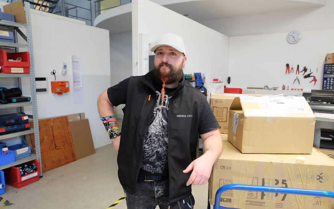 DIE MITARBEITER DER NEPATA GROUP: UNSER ANWENDUNGSTECHNIKER ÄÄD